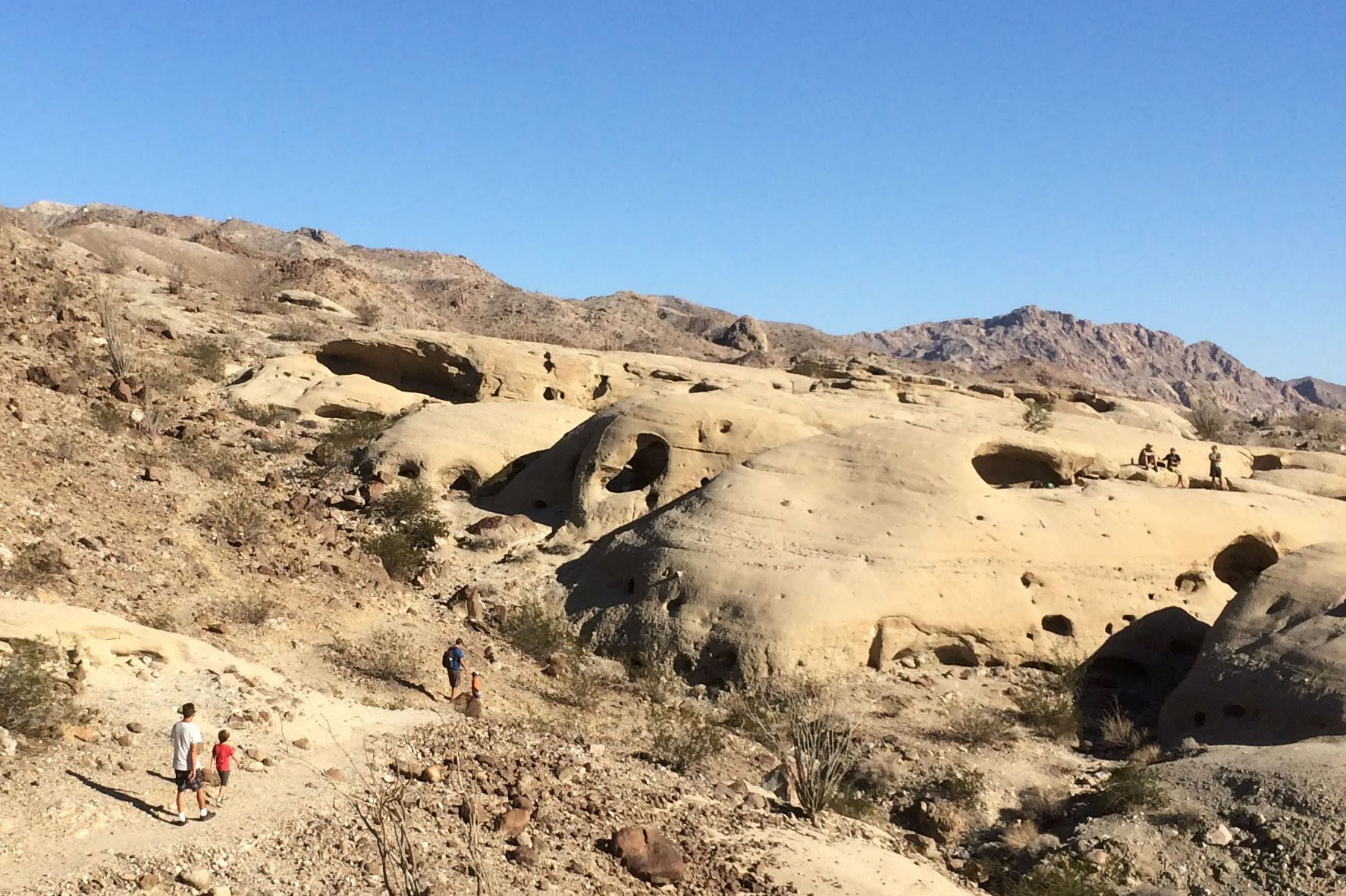 Anza Borrego Wind Caves Cliffs