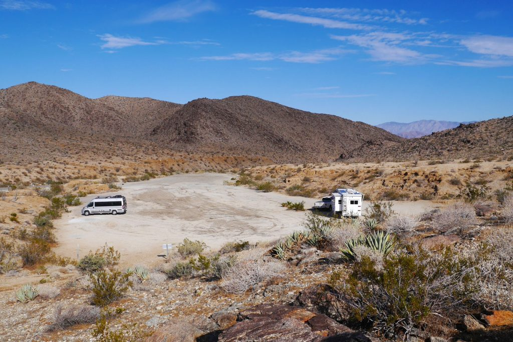 Yaqui Pass Primitive Campground