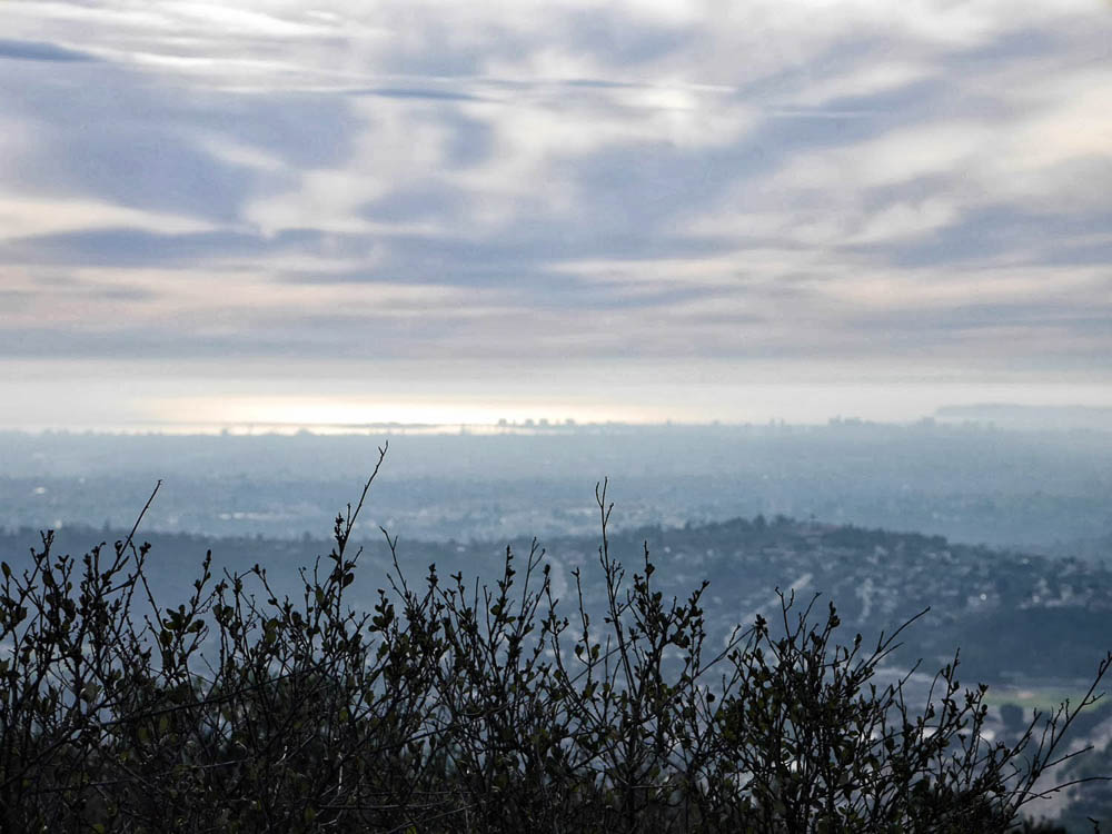 Cowles Mountain summit view