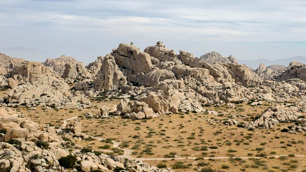 Valley of the Moon Rock Climbing Crags