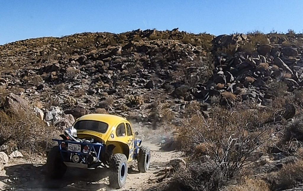 Dune buggy in Coyote Canyon