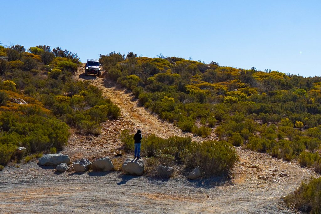 Jeep on Otay Mountain Truck Trail