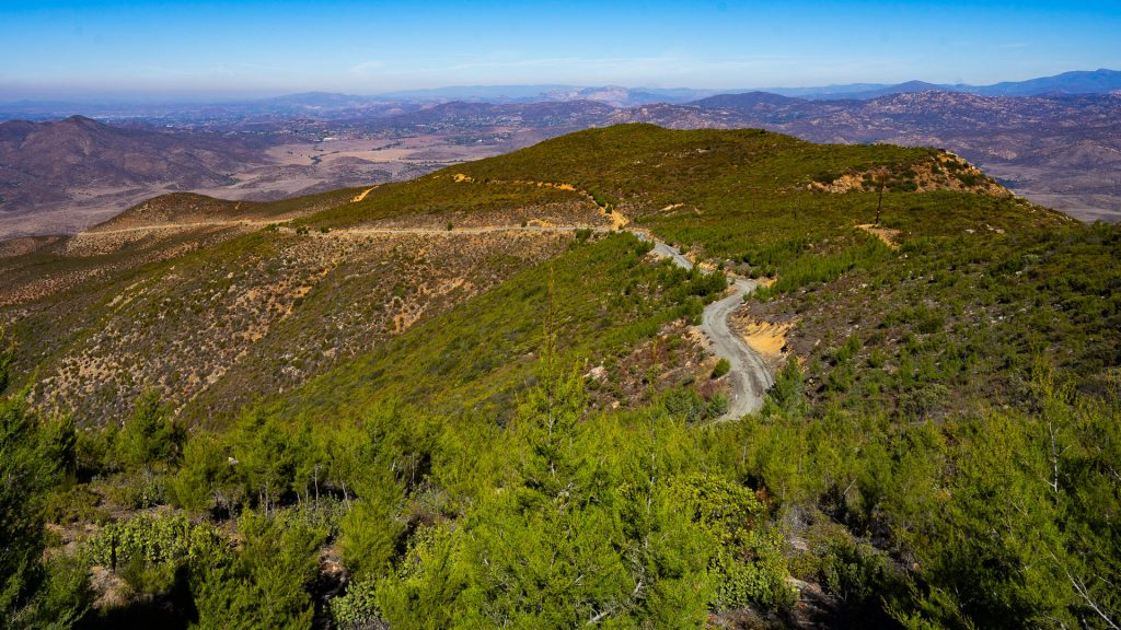 Otay Mountain Truck Trail North View
