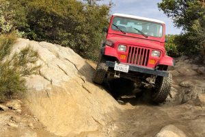 Corral Canyon Jeep Trail