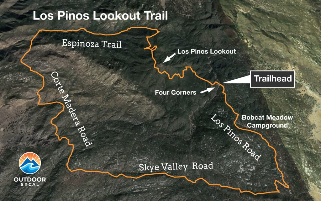 Los Pinos Lookout Trail